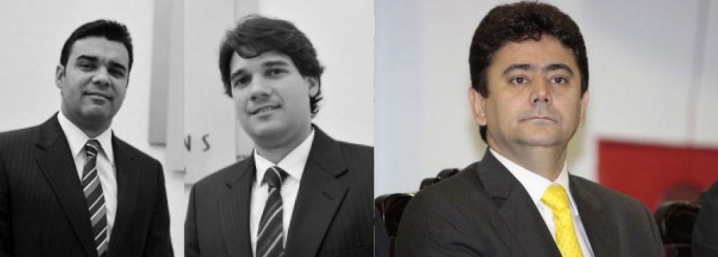 Kleber Tocantins, Alex Tocantins e Éder Moraes