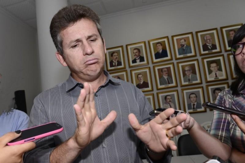 Mauro Mendes. prefeito de Cuiabá