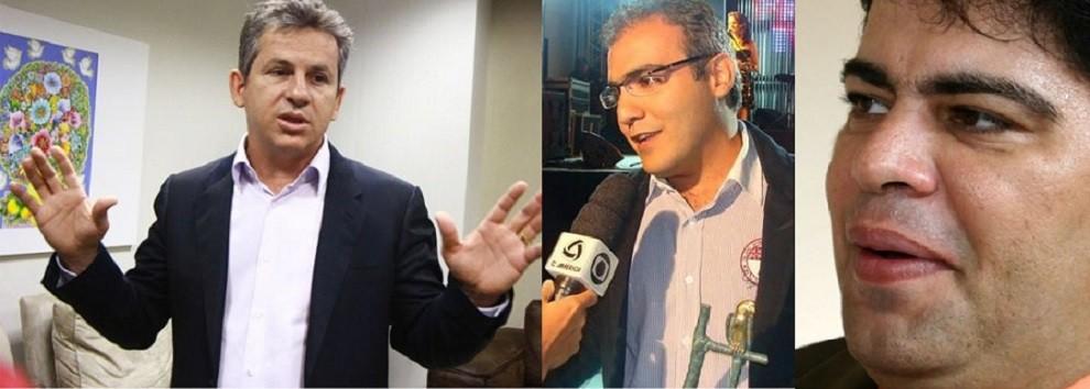 Mauro Mendes, Ziad Fares e Gerson Barbosa