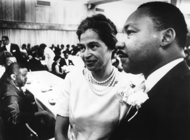 Rosa Parks e Martin Luther King