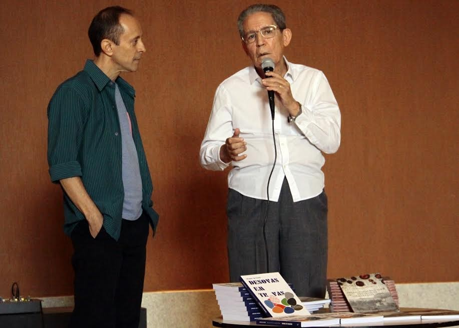 Coube ao ex-reitor Benedito Pedro Dorileo fazer emocionada vocação da personalidade do Padre  Pimentel