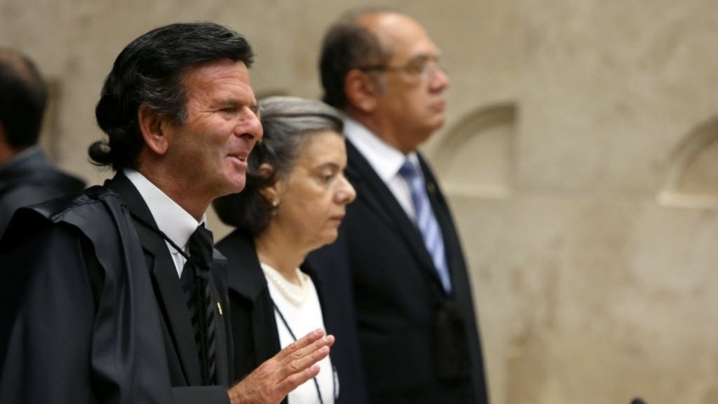 Luiz Fux, Carmen Lúcia e Gilmar Mendes
