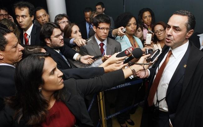 Luis Roberto Barroso e a imprensa