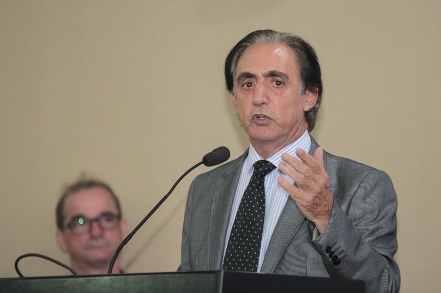 Paulo Brustolin, uma das muitas lideranças empresariais a protestar contra o método adotado por Zé Pedro Taques para impor a reestruturação da cobrança do ICMS