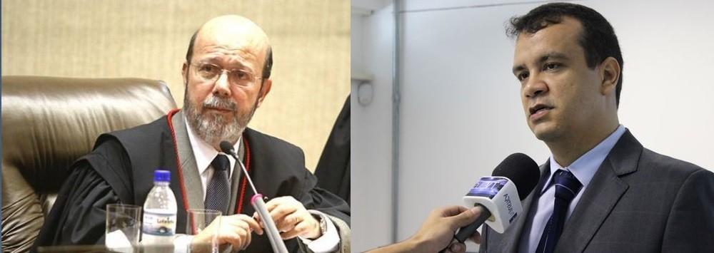 Rubens de Oliveira, desembargador e Emerson Cajango, juiz de direito, magistrados dos quadros do Tribunal de Justiça de Mato Grosso