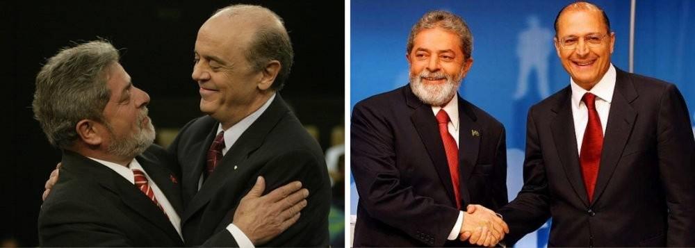 Serra e Alckmin estão confiantes que derrotam o PT em 2018. Inclusive se o candidato for o presidente Lula