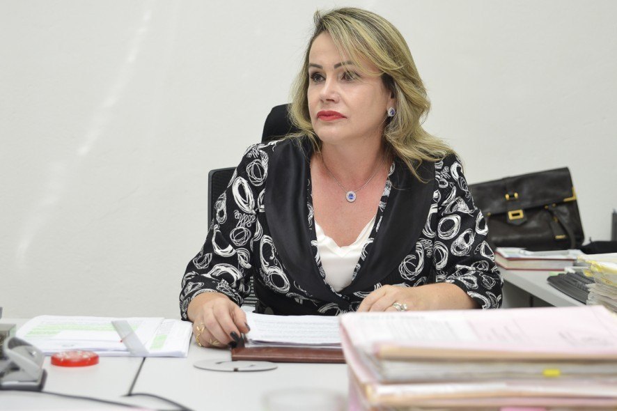 Célia Vidotti, juíza em Cuiabá