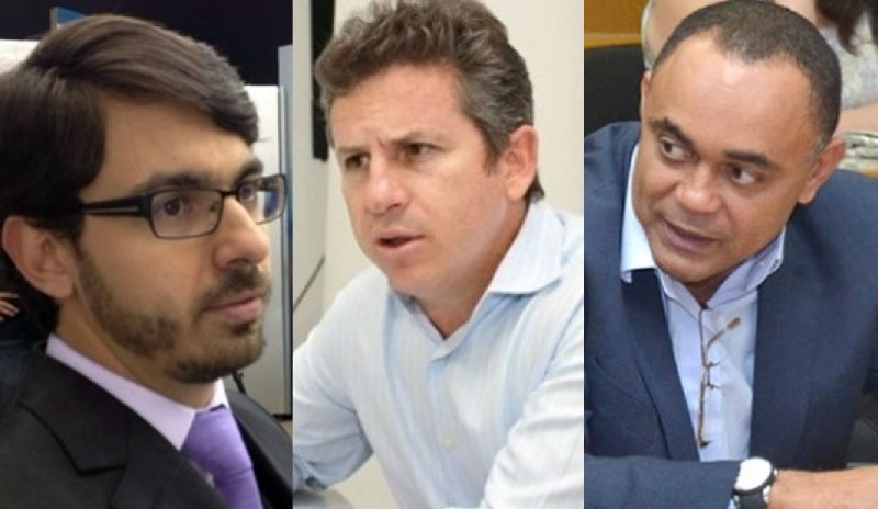 Alexandre Aprá, Mauro Mendes e Kleber Lima