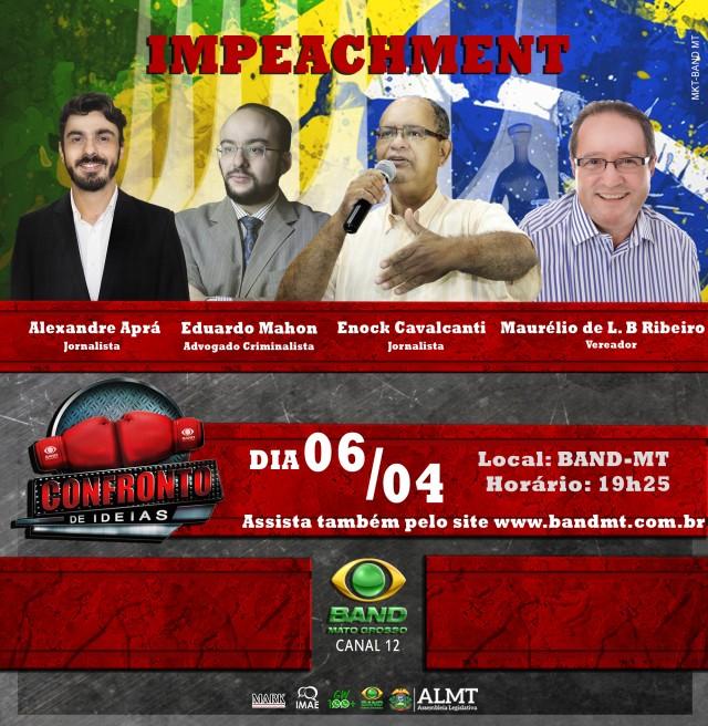 ENOCK APRA MAHON E MAURELIO NO CONFRONTO DE IDEIAS