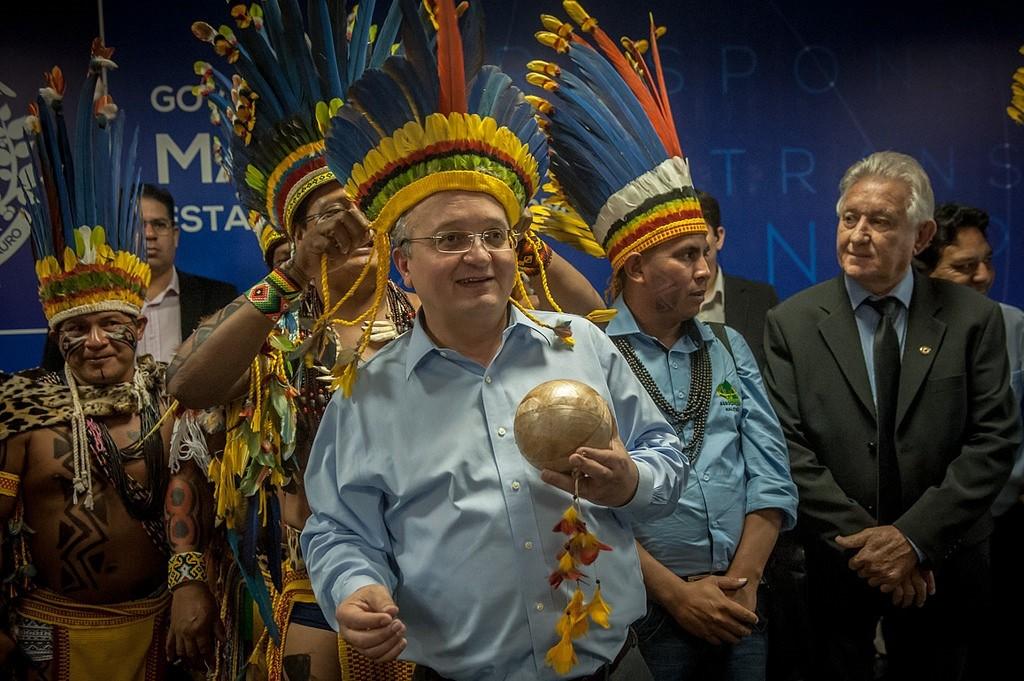 Zé Pedro Taques, governador tucano de MT