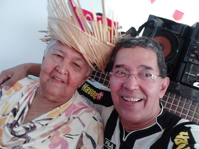 João Bosquo Cartola e sua mãe, dona Josefa