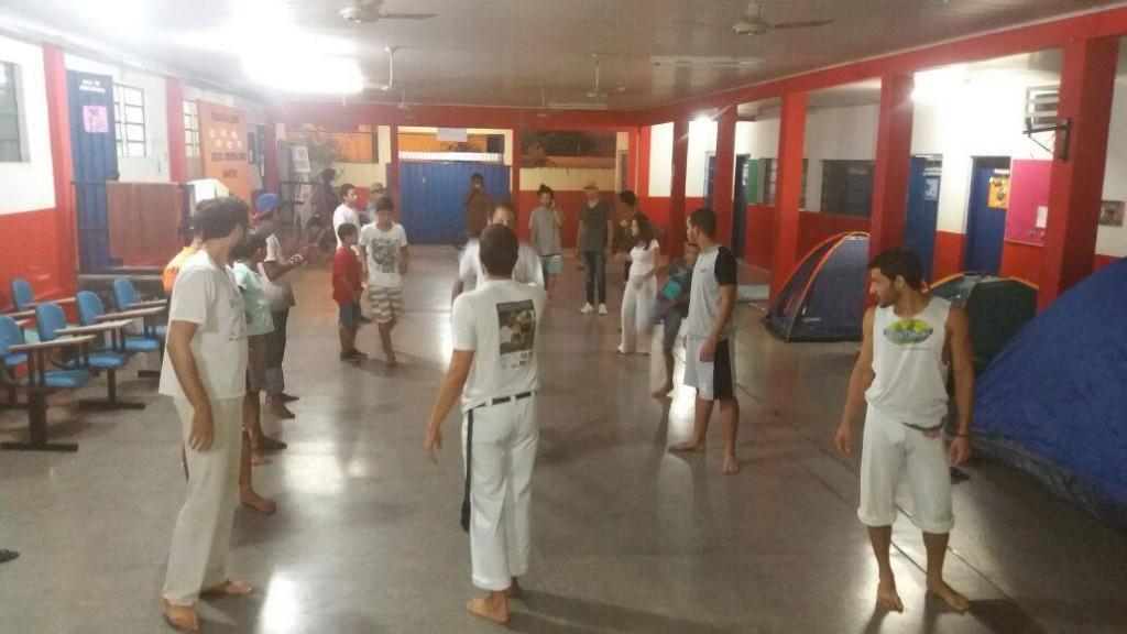Durante a ocupação, estudantes se dedicam a diversas atividades culturais e esportivas