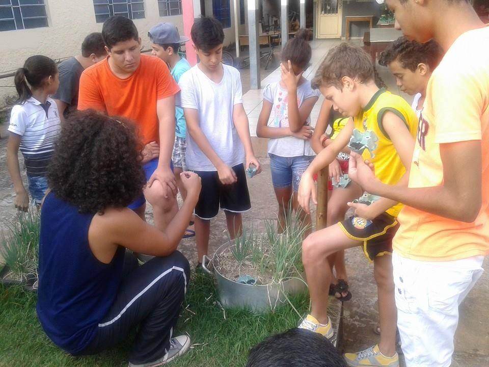 Escola Ramiro-Bernado ocupada em Roo MT na pagina do E3