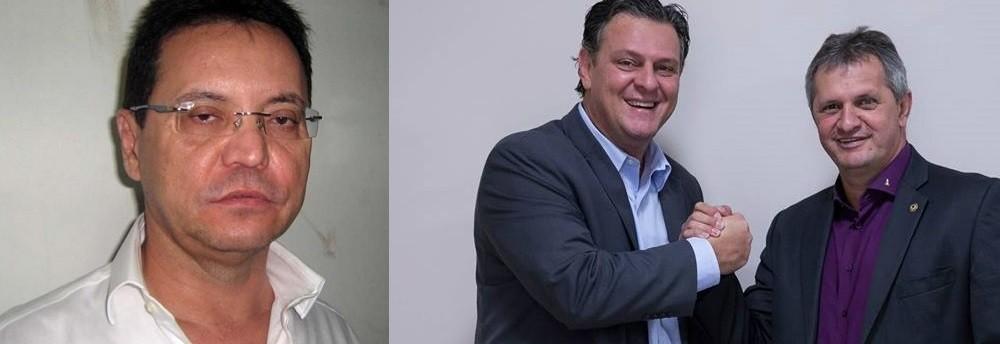 Eduardo Botelho, Carlos Fávaro e Dilmar Dal Bosco