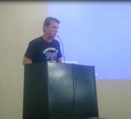 Oscarlino Alves nos debates na Assembleia