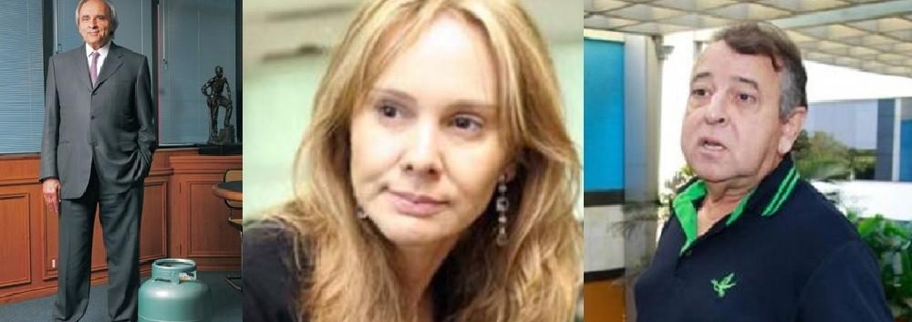 Ueze Zahran, da TV Centro América; Sinii Saboia Ribeiro, juiza de Direito, e João Dorileo Leal, do Grupo Gazeta