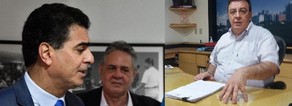 Emanuel Pinheiro e Salim Rahal: dois homens em conflito.
